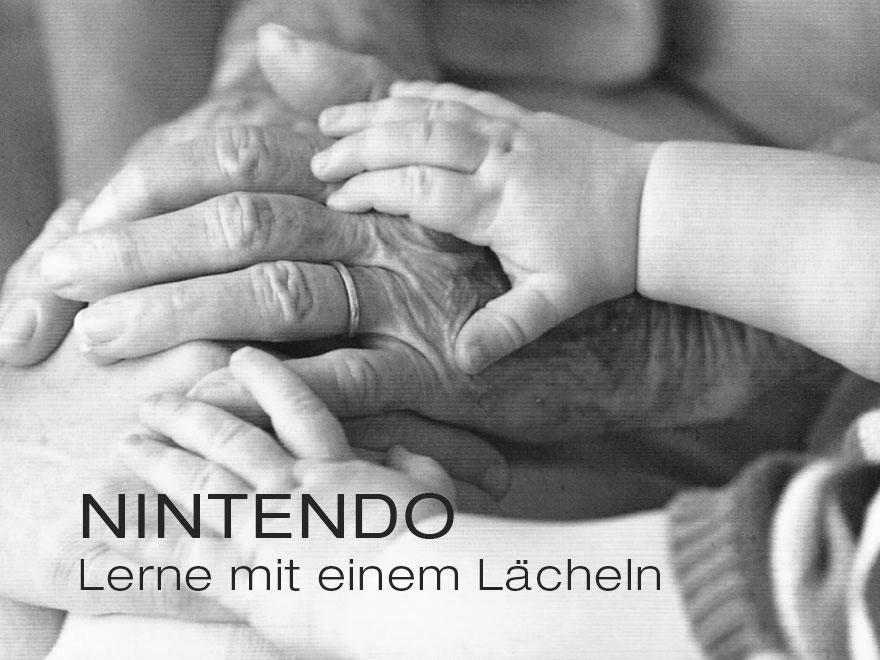 Stefan Volk – Arbeitsproben – Nintendo – Lerne mit einem Lächeln
